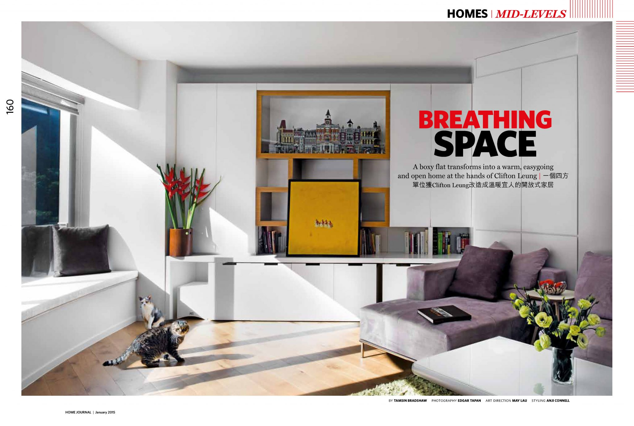 Breathing Space | Home Journal | Jan 2015