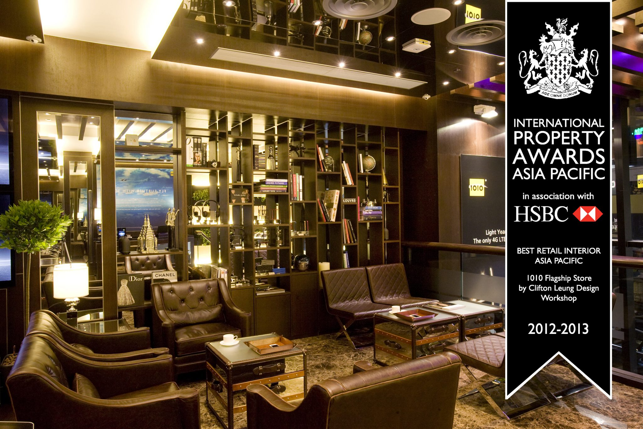 CTM Flagship Store – Best Retail Interior Macau, Asia Pacific Property Awards 2015/16