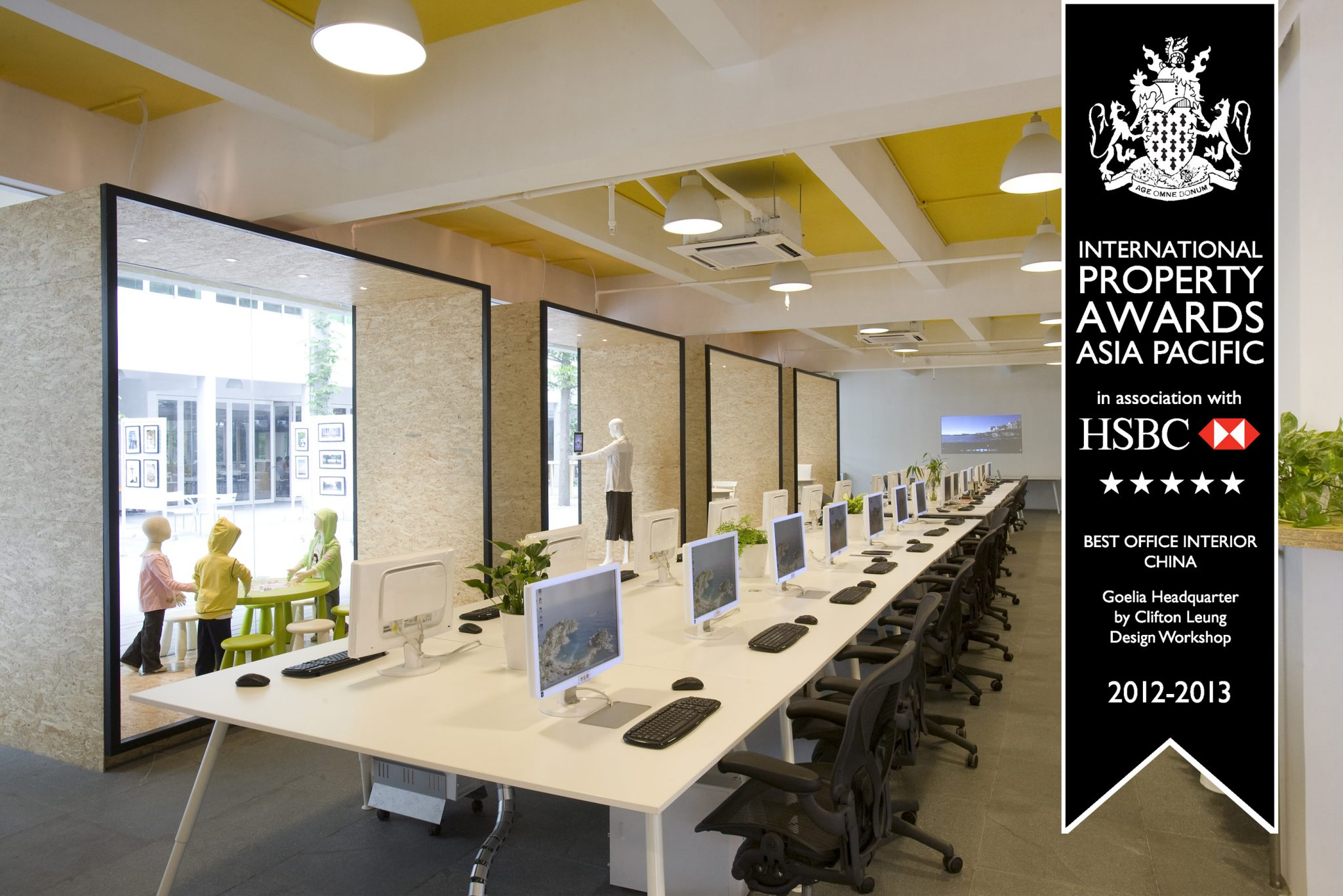 Goelia Headquarter – Best Office Interior China, Asia Pacific Property Awards 2012/13