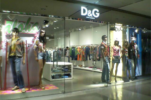 D&G Retail Store – Harbour City