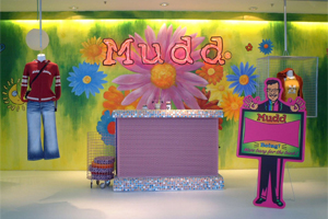 Mudd Jeans Retail Store – China