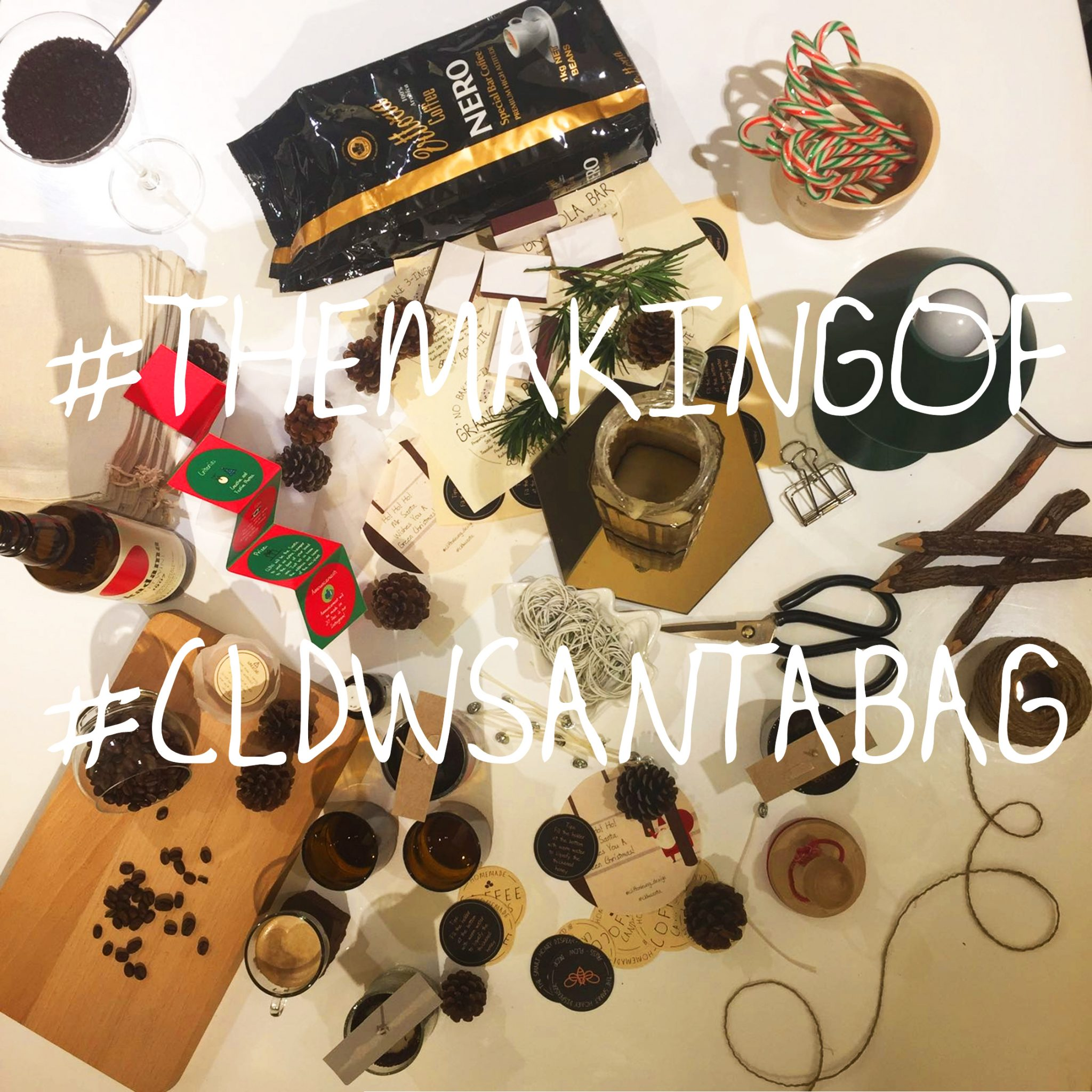 What's in the #CLDWSantaBag ?