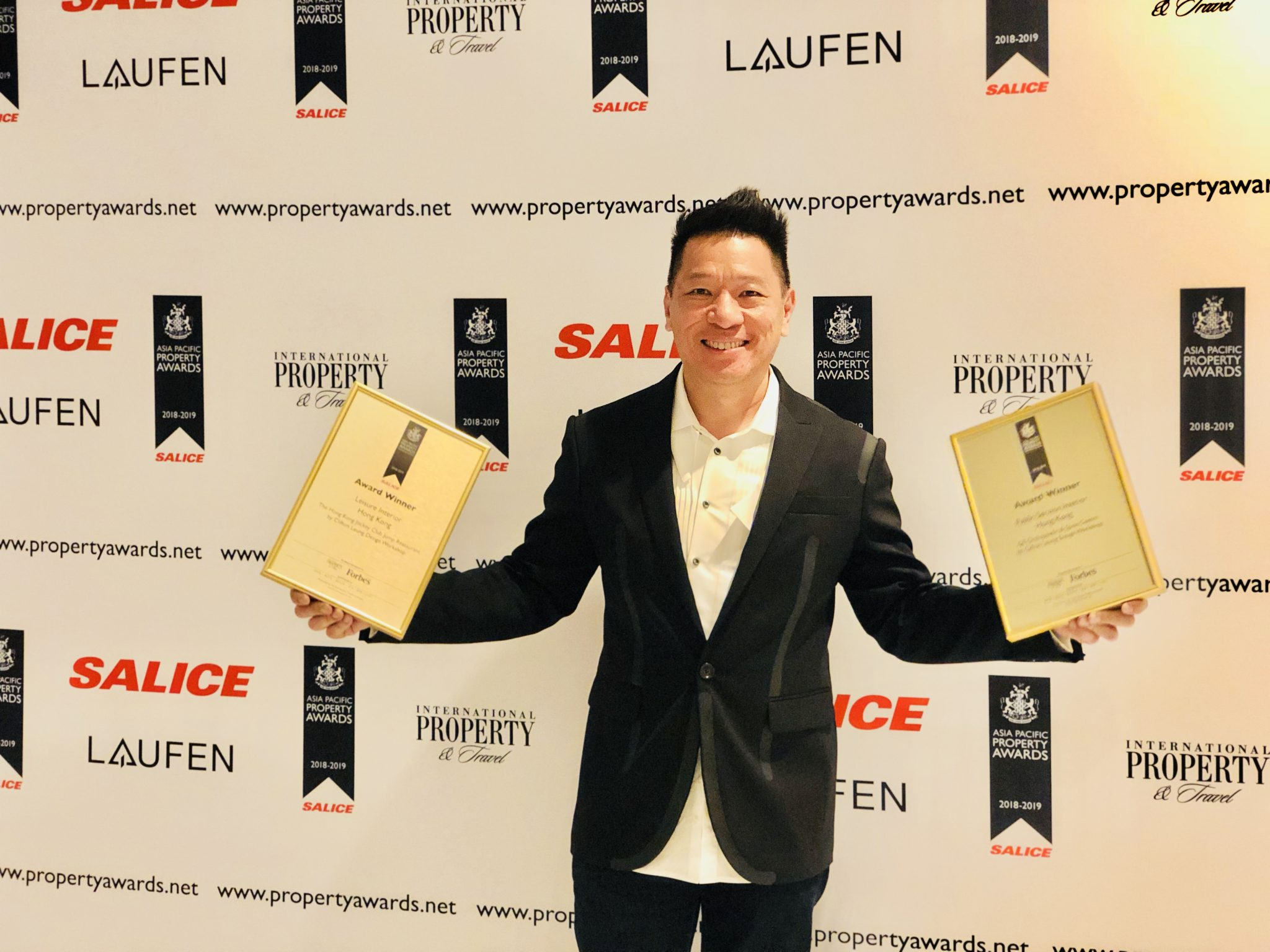 CLDW wins Two Major Awards at the Prestigious Asia Pacific Property Awards 2018-2019