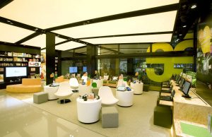 Interior Design HK-Telecom Shop design
