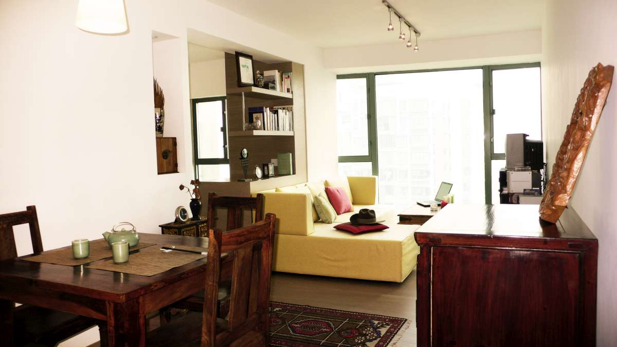 Modern Oriental Style-Laguna Verde-Living Room