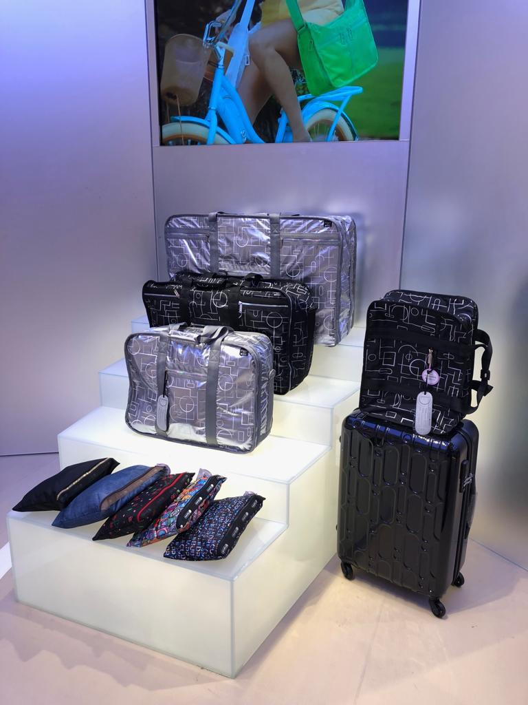 CLIFTON LEUNG X LESPORTSAC COLLECTION,  THE FIRST HONG KONG AIR ARTIST IN RESIDENCE COLLECTION  BY CLIFTON LEUNG