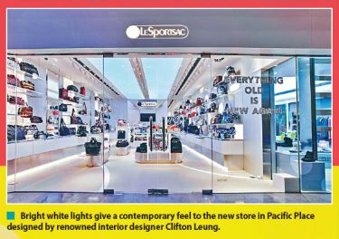 LeSportsac Pacific Place is featured in The Standard!