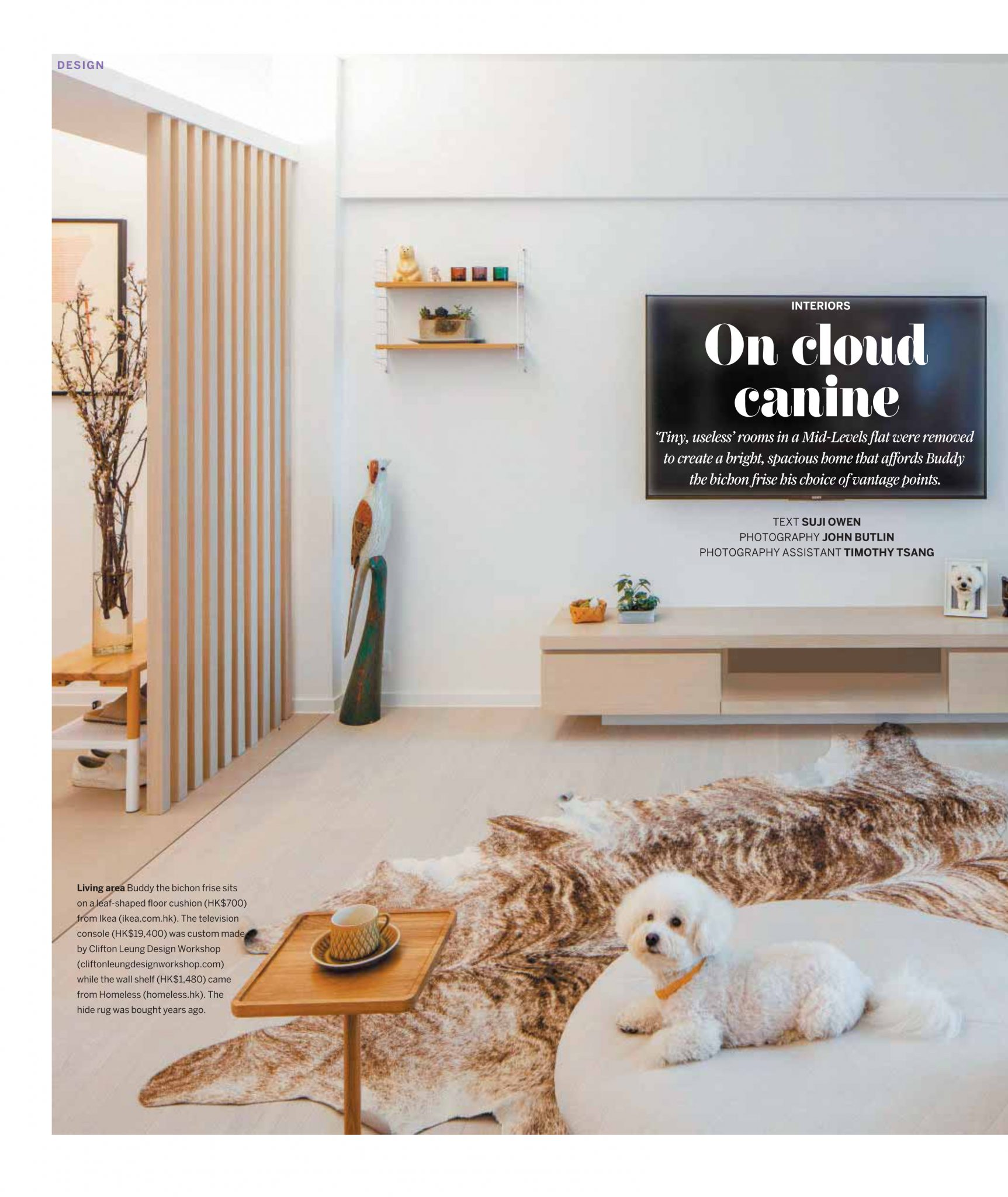 Dog friendly home SCMP Post Magazine Aug 2019