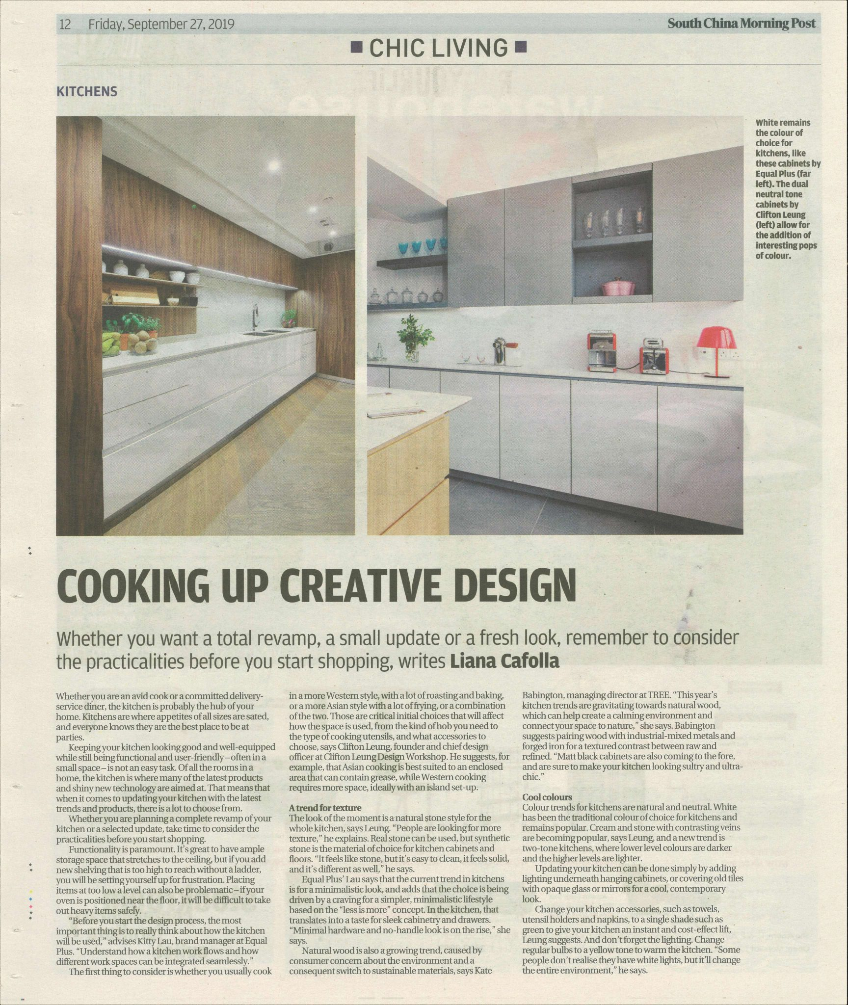 SCMP Chic Living_Teens Bedroom & Kitchen Trends