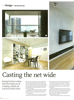 Casting the Net Wide | SCMP Post Magazine | May 2011
