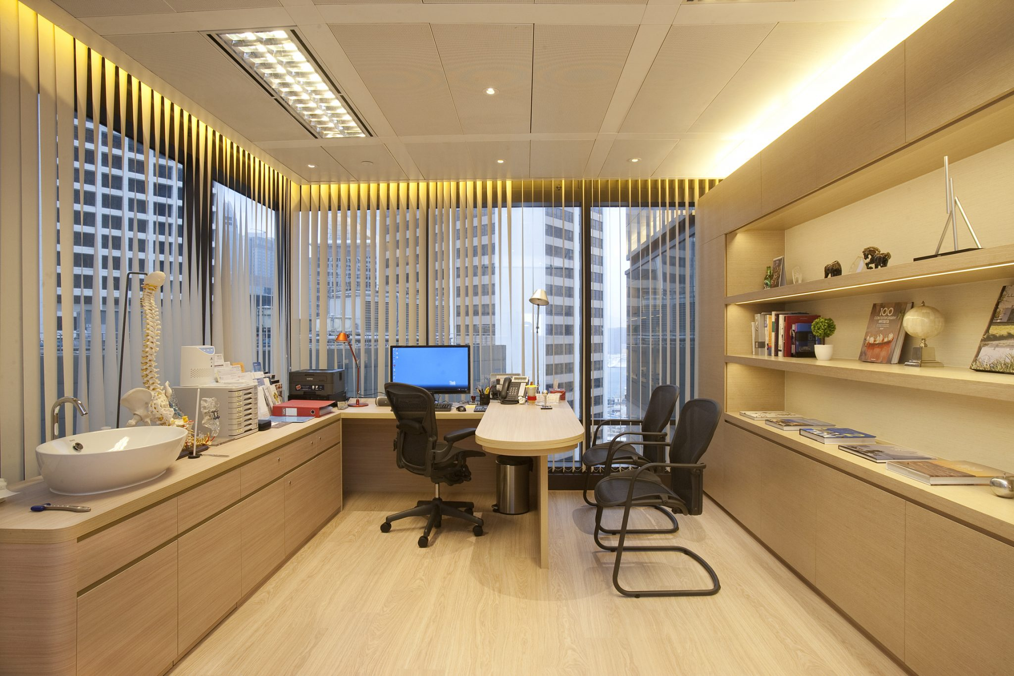 Q9 orthopaedic and spine centre hk homely healthcare centre interior design 醫療中心設計
