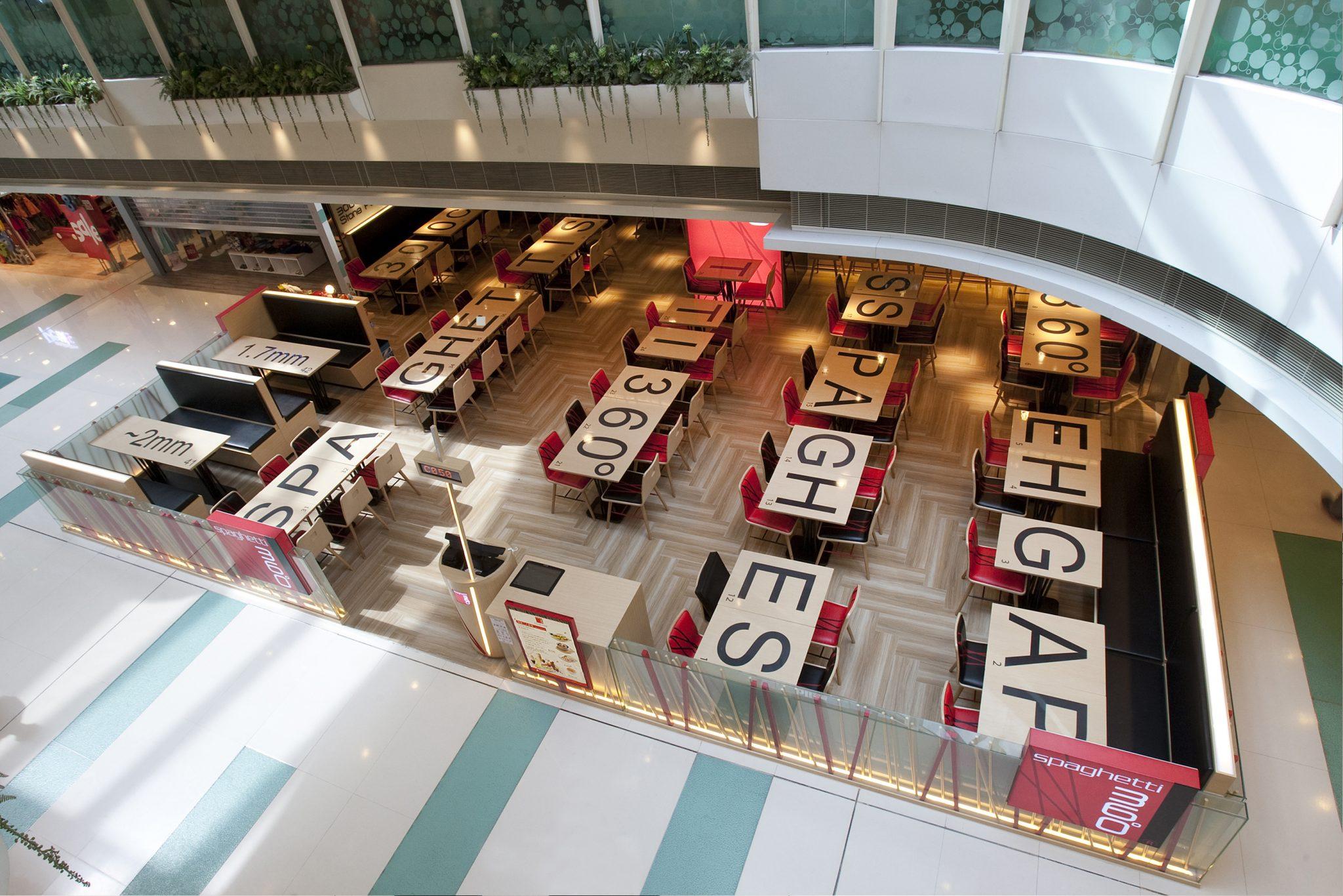Spaghetti 360 Café – New Town Plaza, Shatin