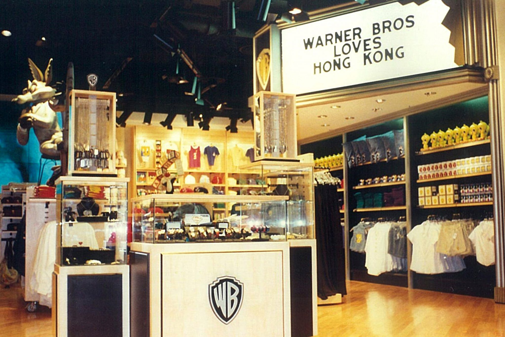 Warner Brothers Studio Store – Hong Kong