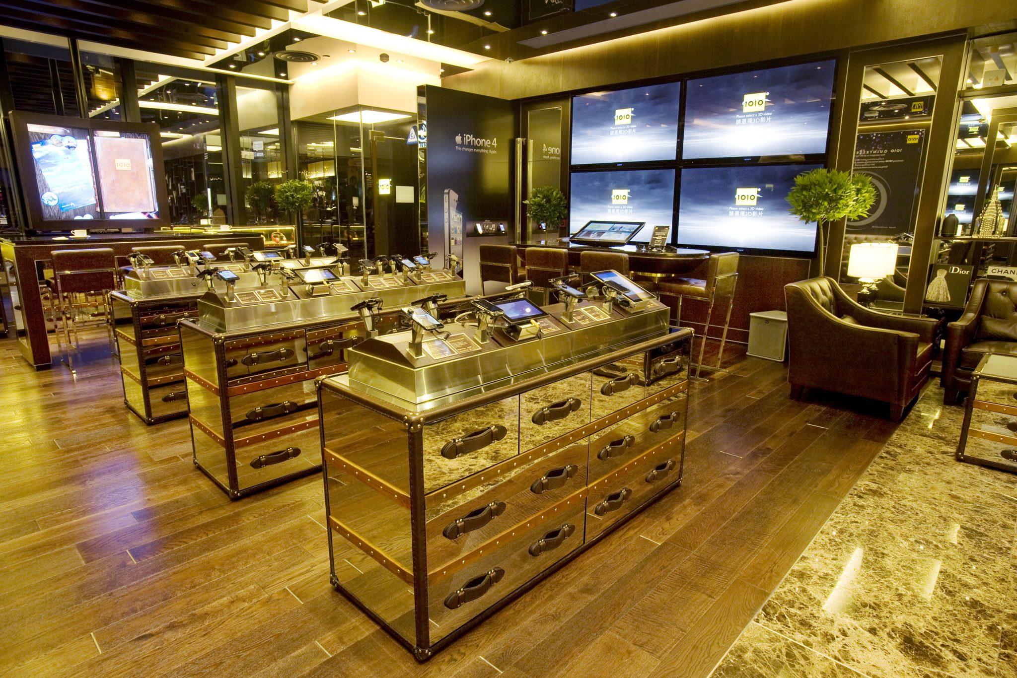 1o1o flagship store central clifton leung design workshop. Black Bedroom Furniture Sets. Home Design Ideas