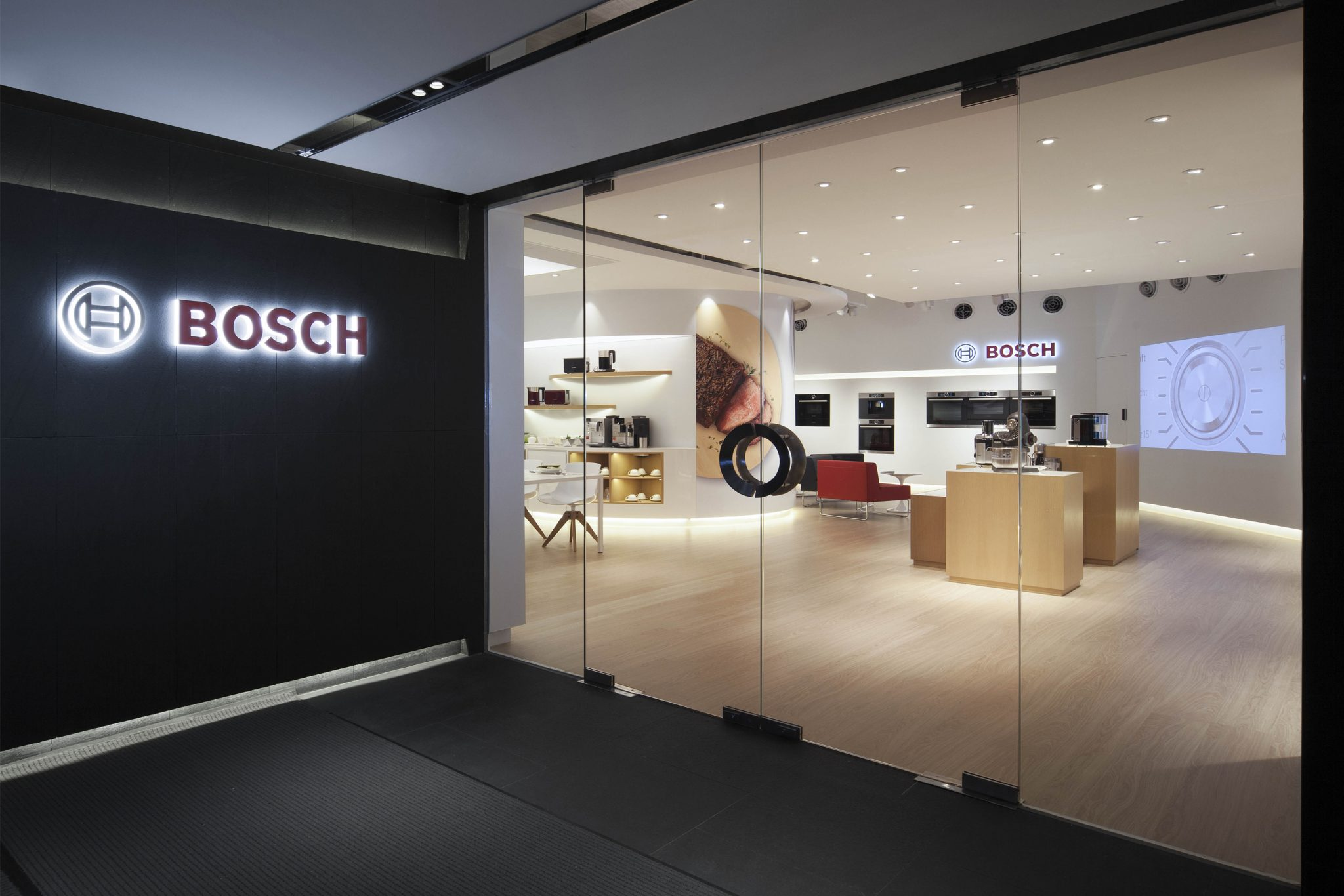 Bosch Galleria Showroom – Central